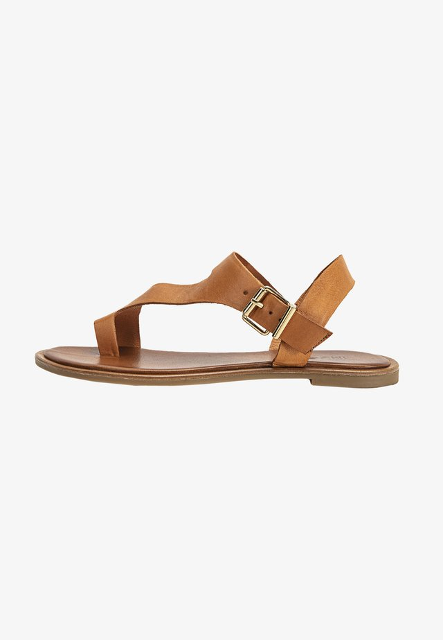 T-bar sandals - coconut ccn