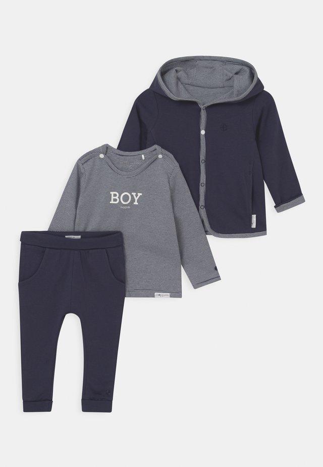 BABY SET - Cardigan - navy