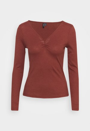 Long sleeved top - sable
