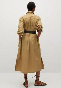 Mango - BELINDA - Košilové šaty - mellembrun - 2