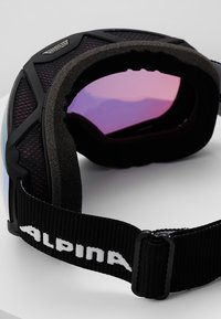 Alpina - PHEOS QMM - Gogle narciarskie - black matt - 3