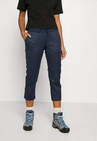 The North Face - WOMEN'S APHRODITE CAPRI - Pantalons outdoor - urban navy - 0