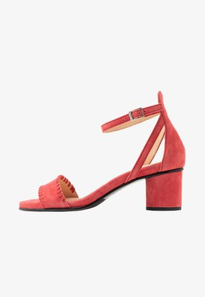 SLFMERLE NEW  - Sandals - cranberry