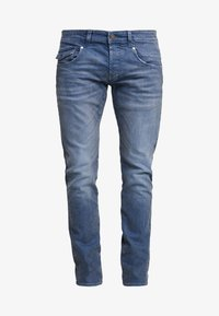 Amsterdenim - JOHAN - Jeans Tapered Fit - regenwolk - 4