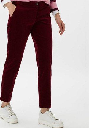 MARON - Trousers - bordeaux