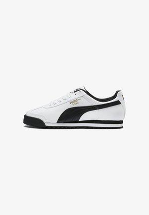 ROMA - Baskets basses - white/black
