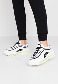 Nike Sportswear - AIR MAX 97 - Sneakers laag - summit white/black/barely volt/white - 0