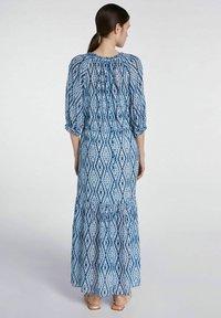 SET - Maxi dress - white blue - 2