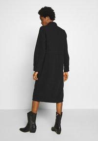 Monki - JAMIE DRESS - Denim dress - black dark - 2