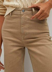 Mango - Trousers - open beige - 3