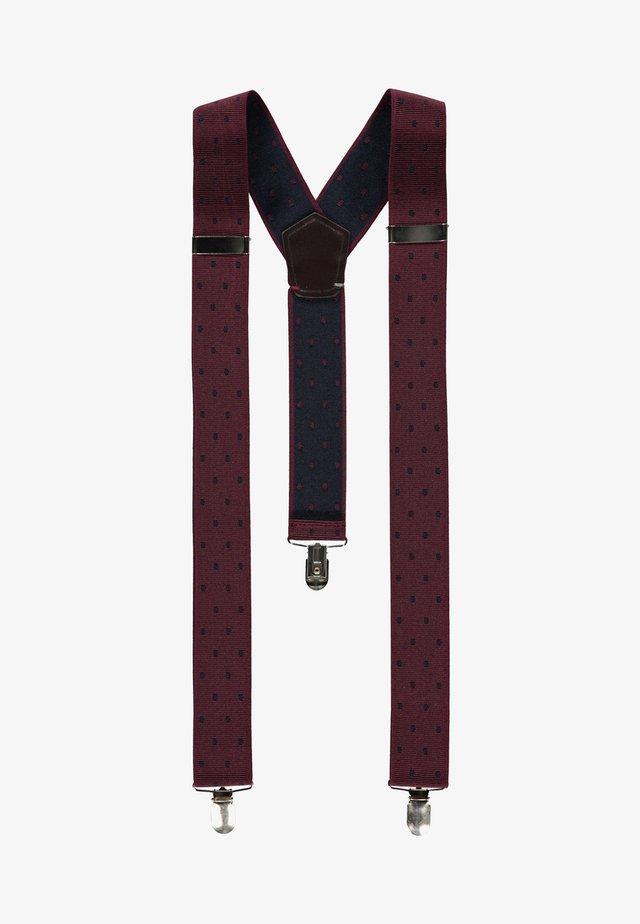 Belt business - wine red