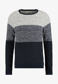 Pier One - Strikpullover /Striktrøjer - mottled dark blue - 5