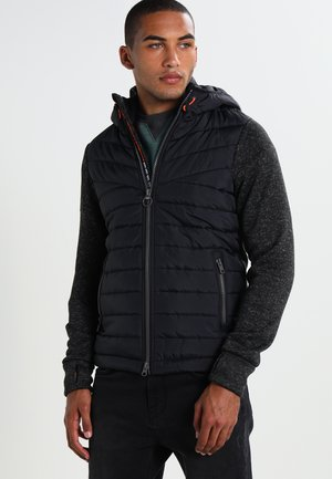 STORM HYBRID - Light jacket - gritty black