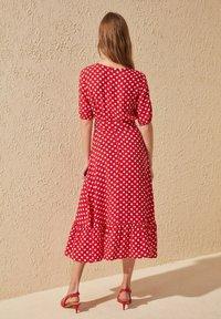 Trendyol - Day dress - red - 5