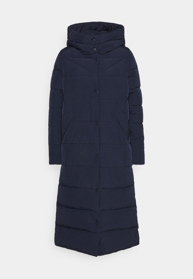 ONLCAROLINE QUILTED LONG COAT - Winter coat - night sky