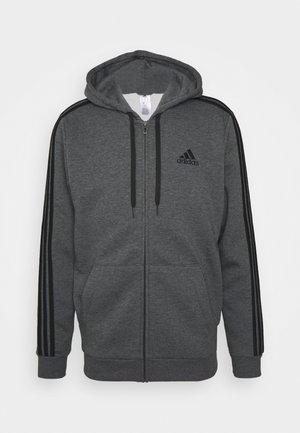 Zip-up hoodie - dark grey heather