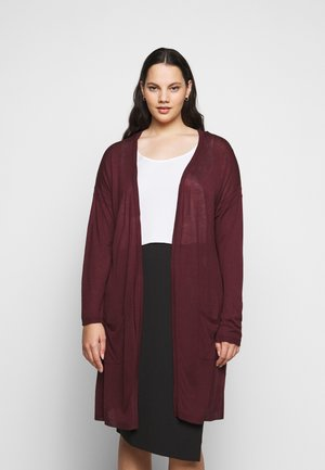 KCSANDY CARDIGAN - Cardigan - port royale