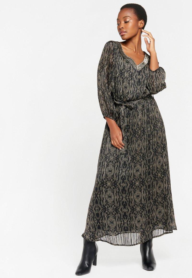 LolaLiza - LUREX - Maxi dress - black beauty