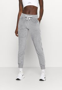 Champion - CUFF PANTS LEGACY - Spodnie treningowe - mottled grey - 0