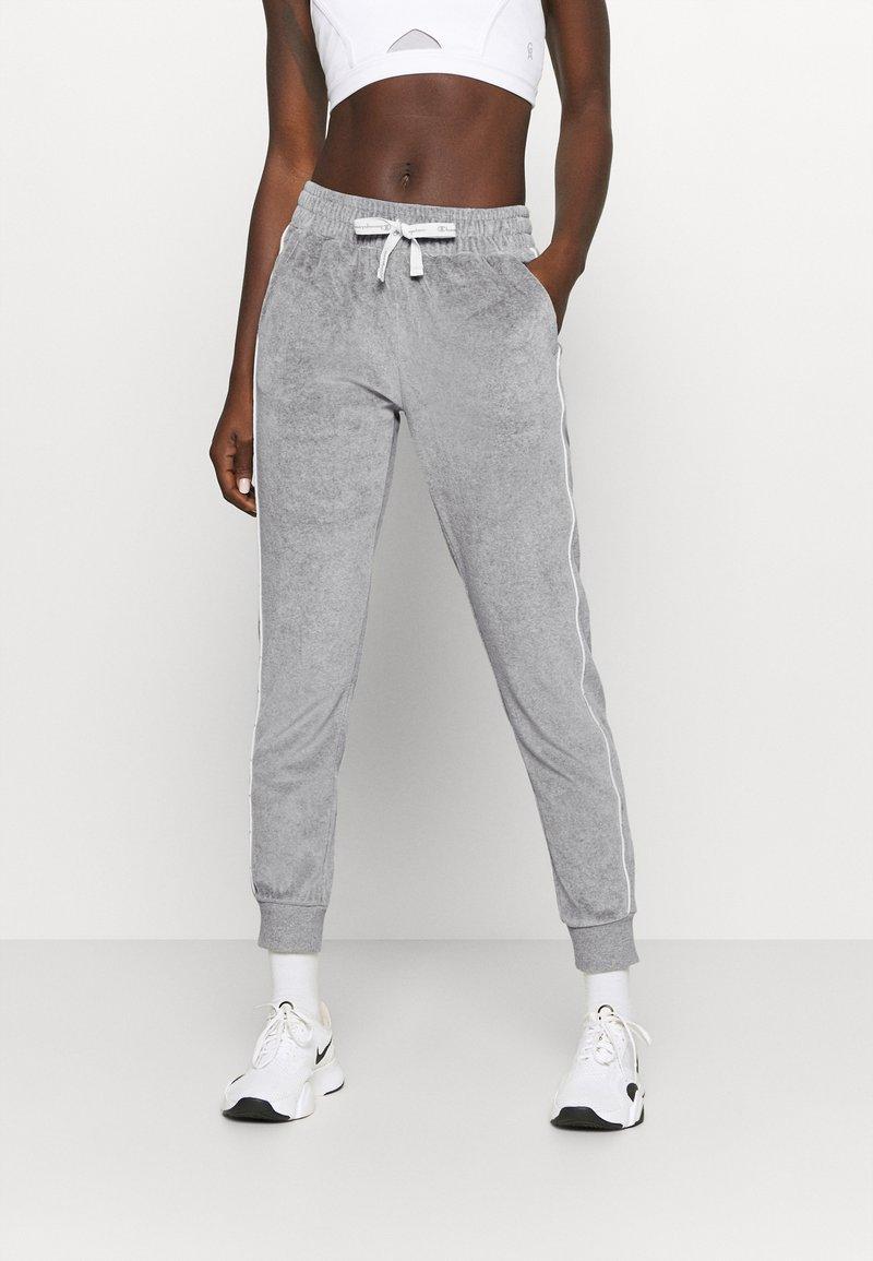 Champion - CUFF PANTS LEGACY - Spodnie treningowe - mottled grey