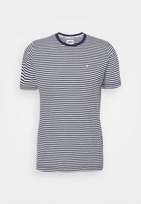 Tommy Jeans - CLASSICS STRIPE TEE - T-shirt z nadrukiem - blue - 4