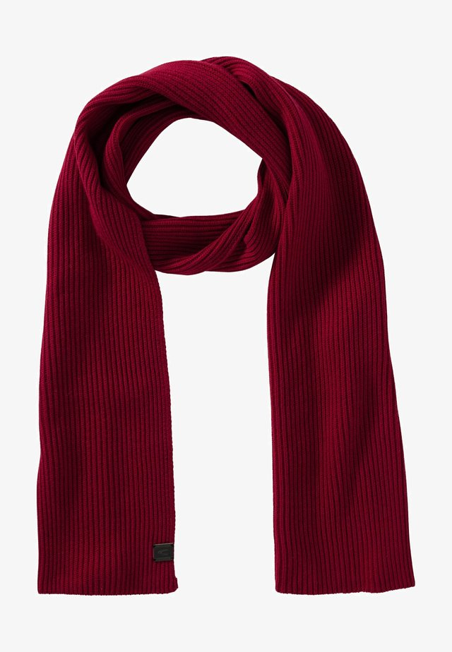 Scarf - racing red