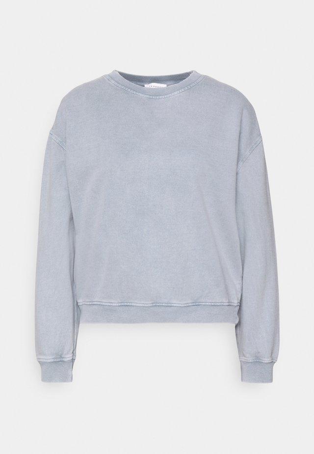 ACID WASH - Sweatshirt - blue