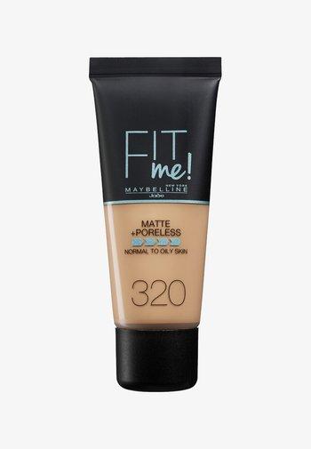 FIT ME MATTE & PORELESS MAKE-UP - Foundation - 320 naturell