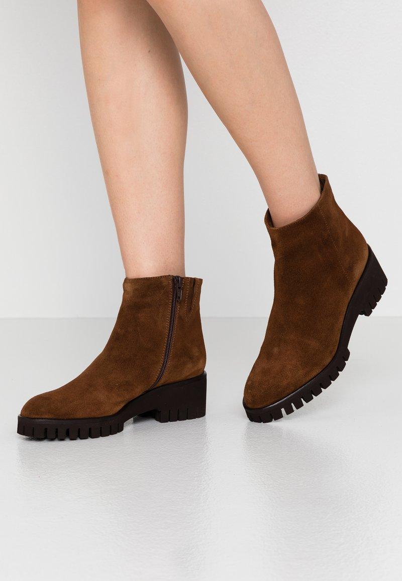Lamica - AGO - Kotníková obuv - marrone
