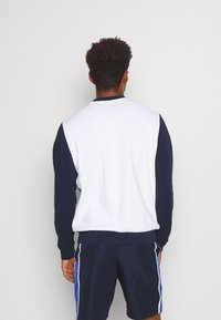Lacoste Sport - BLOCK - Sweater - white/navy blue/cosmic - 2