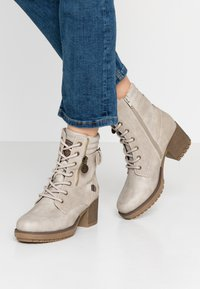 Dockers by Gerli - Lace-up ankle boots - ice - 0