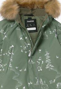 Reima - REIMATEC WINTER LAPPI UNISEX - Snowsuit - greyish green - 4
