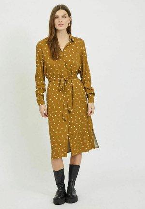 Shirt dress - butternut