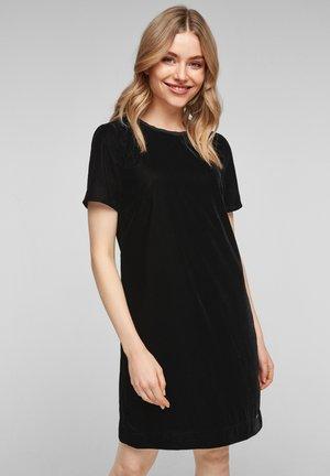 Day dress - black melange