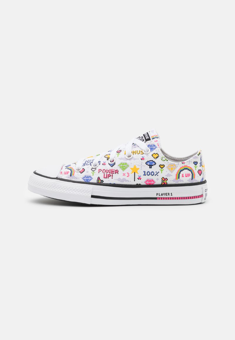 Converse - CHUCK TAYLOR ALL STAR GAMER UNISEX - Trainers - white/black/bold pink