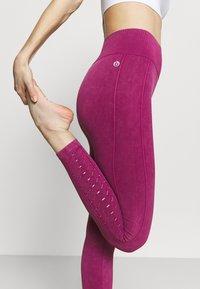 Cotton On Body - LIFESTYLE SEAMLESS 7/8 YOGA  - Tights - boysenberry wash - 3