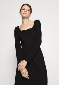 Trussardi - DRESS COMPACT - Day dress - black - 3