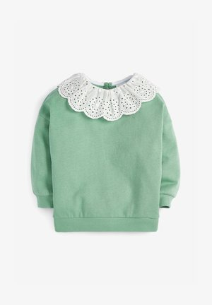 BRODERIE - Sweater - green