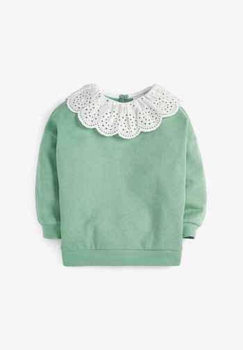 BRODERIE - Mikina - green