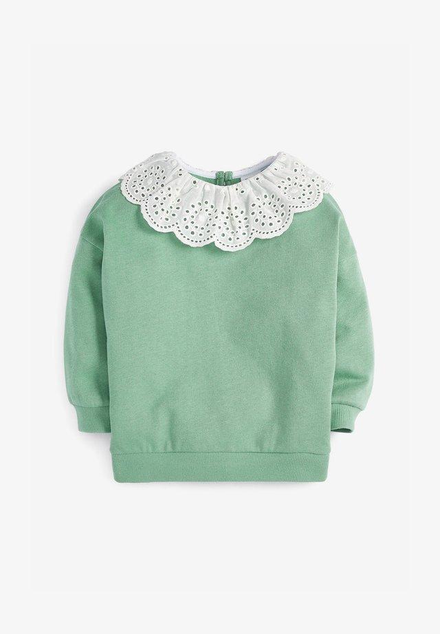 BRODERIE - Sweatshirts - green