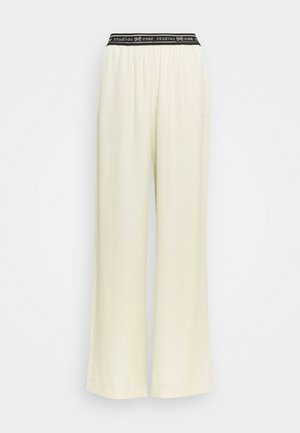 ELOISE WIDE PANTS - Trousers - oyster grey