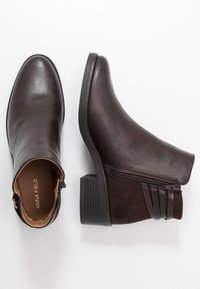 Anna Field Wide Fit - Ankle boots - brown - 3