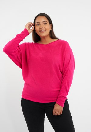 MET VLEERMUISMOUW - Trui - bright pink