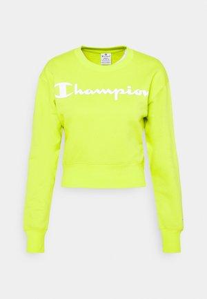CREWNECK LEGACY - Bluza - neon yellow