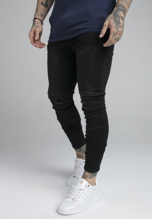 Jeans Tapered Fit - washed black