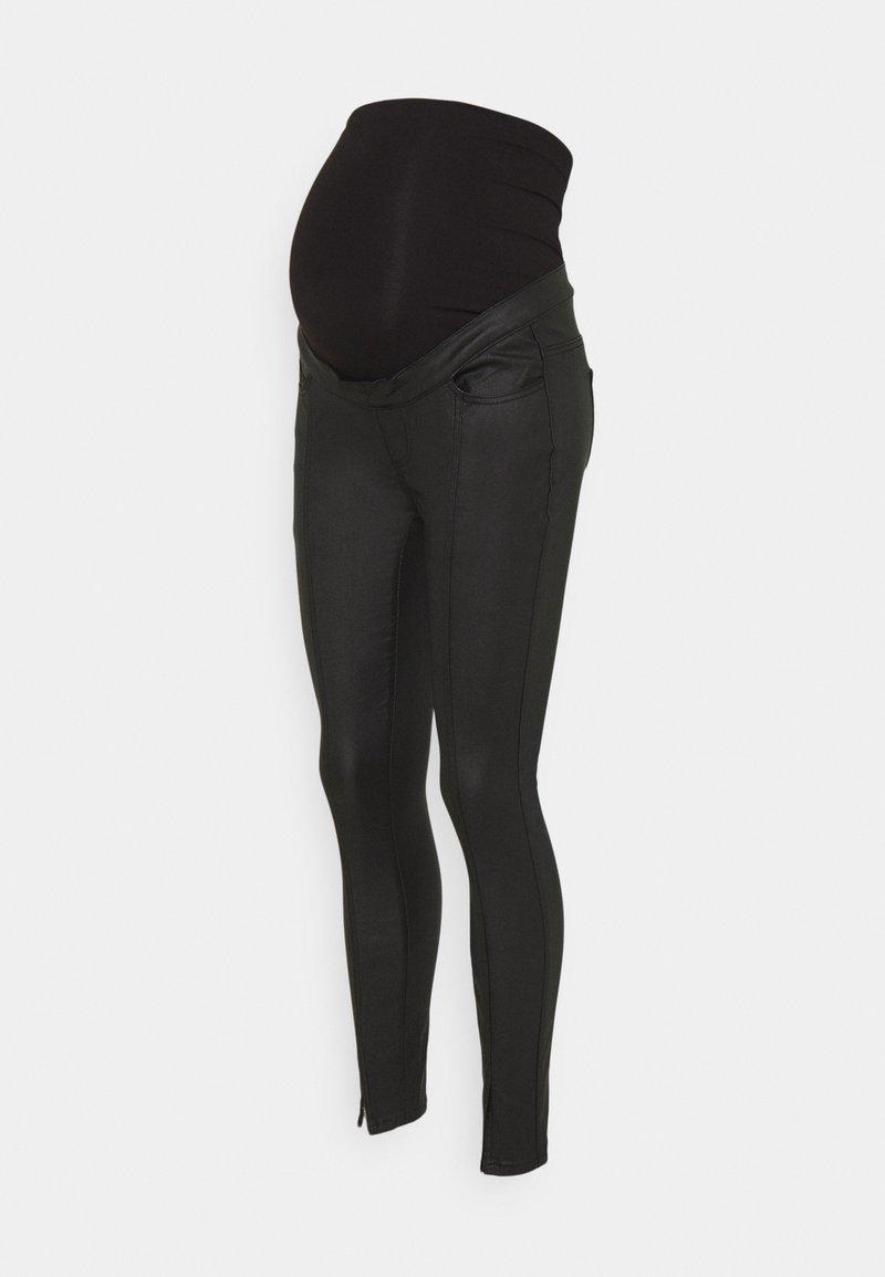 Missguided Maternity - SPLIT COATED SINNER - Bukse - black