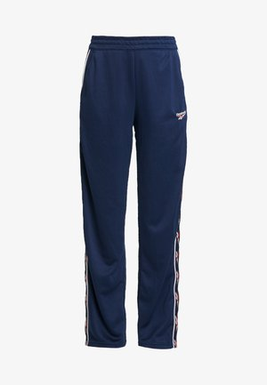 VECTOR GRAPHIC SERIES CASUAL PANTS - Tracksuit bottoms - collegiate navy