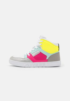 JUSTIS - High-top trainers - pink/silver