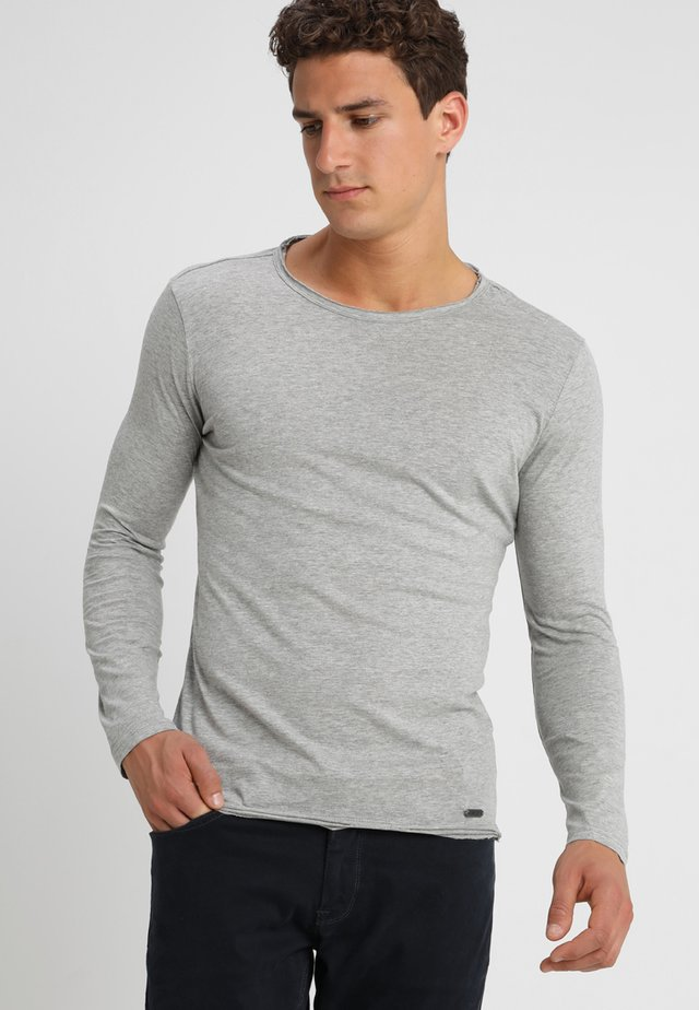 CHEESE - Long sleeved top - silver melange