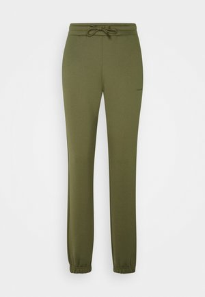 GABBY TROUSER - Tracksuit bottoms - army